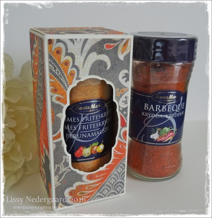 Æske til Santa Maria krydderier